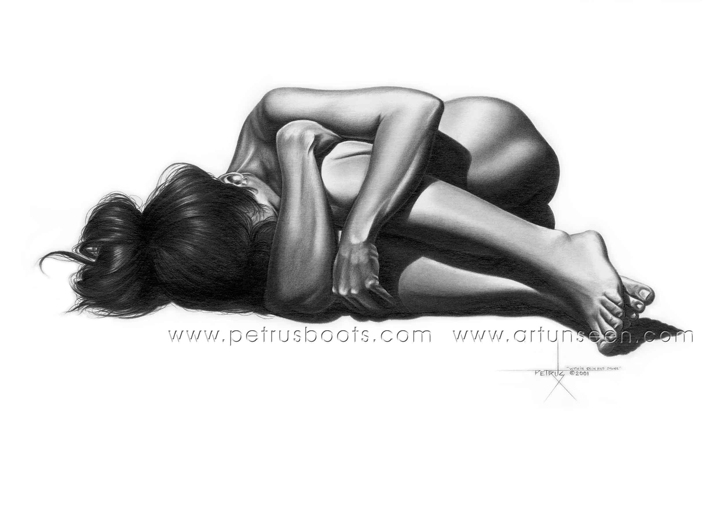 Рисунки карандашом голой девушки 27 фотография